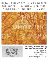 The Drawing of Sound (flyer)